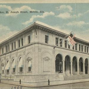 Mobile, AL, New Post Office, St. Joseph Street