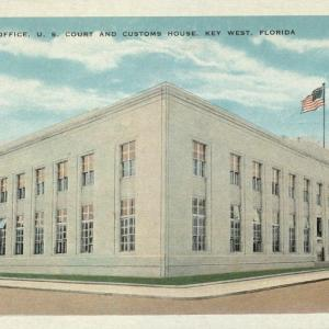Key West, FL, New Post Office, US Court and Customs House