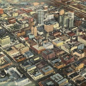 Birmingham, AL, Aerial View