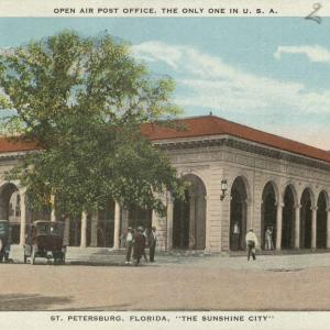 St. Petersburg, FL, US Open Air Outdoor Post Office