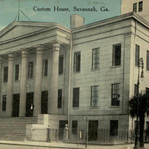 Savannah, GA, Custom House