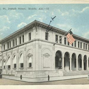 Mobile, AL, Post Office, St. Joseph Street