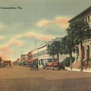 Fernandina, FL, Center Street