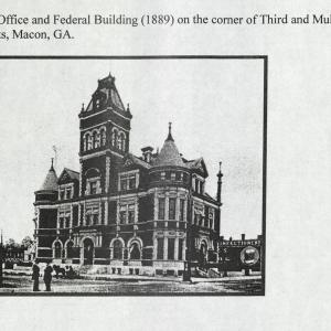 Macon, GA, Post Office and Federal Building