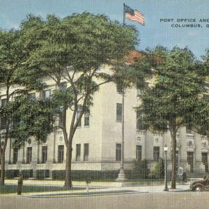Columbus, GA. Post Office and Court House