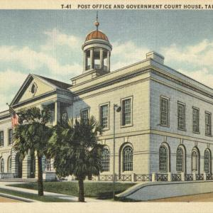 Tallahassee, FL, Post Office and Government Court House