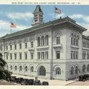 Savannah, GA, New Post Office and Court House