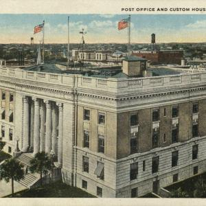 Tampa, FL, Post Office, Custom House