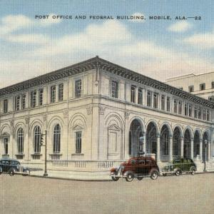 Mobile, AL, Post Office and Federal Building