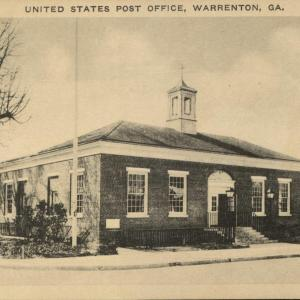 Warrenton, GA, US Post Office