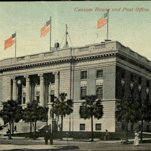 Tampa, FL, Custom House and Post Office