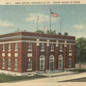 Thomasville, GA, Post Office and Court house