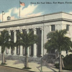 Fort Myers, FL, Open Air Post Office, City of Palms