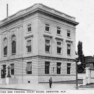 Anniston, AL, Post Office and Federal Court House
