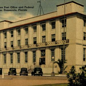 Pensacola, FL, New United Sates Post Office and Federal Court House