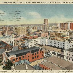 Birmingham, AL, Downtown business section