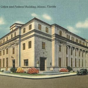 Miami, FL, U.S. Post Office and Federal Buidling