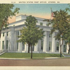 Athens, GA, United States Post Office
