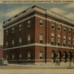 Opelika, AL, United States Post Office and Court House