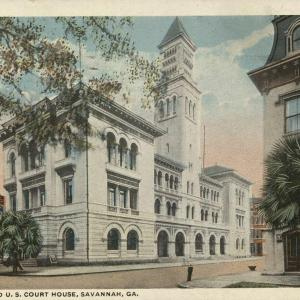 Savannah, GA, Post Office and U.S. Court House