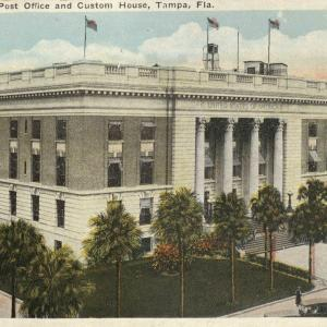 Tampa, FL, Federal building, Post office, Custom House