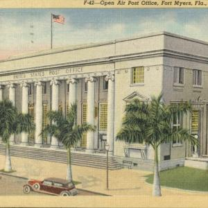 Fort Myers, FL, Open Air Post Office
