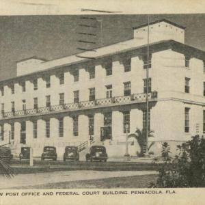 Pensacola, FL, New Post Office and Federal Court Building