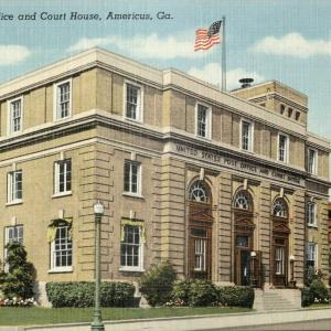 Americus, Ga. U.S. Post Office and Court House