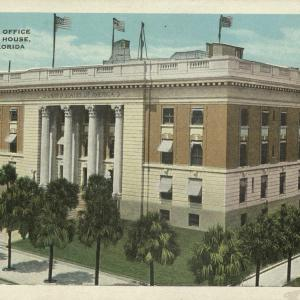 Tampa, FL, Custom House, Post Office