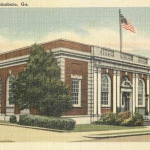 Swainsboro, Ga, Post Office